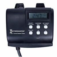 Intermatic Hb880r 15-amp Seven Day Outdoor Digital Timer , New, Free Shipping