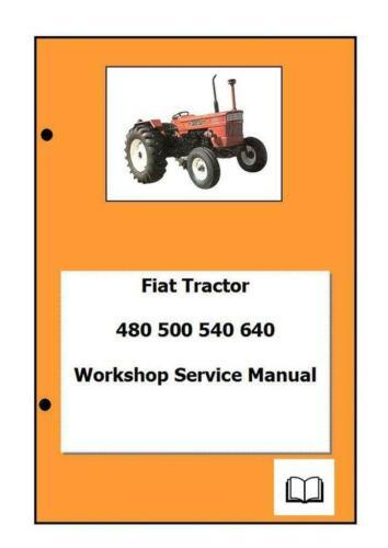 Fiat incl DT 580 680 570 670 Workshop Manual Printed