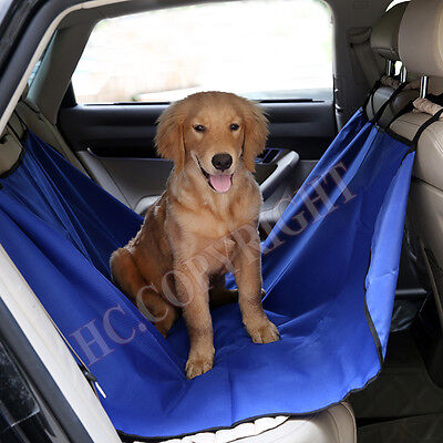 New Thickening Truck Car Rear Back Seat Cover Mat Blanket Cradle For Dog Pet Cat