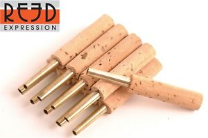 Reed Expression Oboe Reed Staples Tubes 47 Mm - 4 Pieces ^_^-afficher Le Titre D'origine Retarder La SéNilité