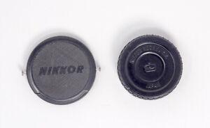 Vintage-Nippon-Kogaku-52mm-Lens-Cap-amp-Rear-Lens-Cap