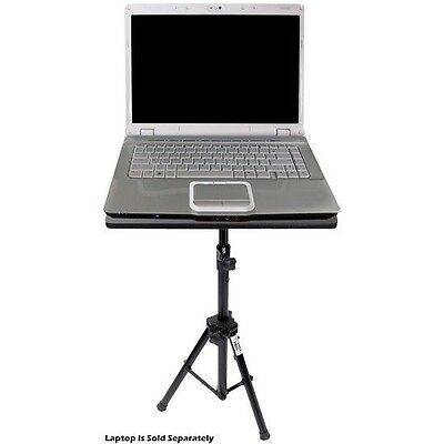 NEW Pyle PLPTS3 DJ Laptop Tripod Adjustable Stand For Notebook Computer