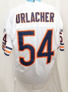 buy popular 4f239 32525 Details about Reebok NFL Brian Urlacher 54 Chicago Bears Authentic Jersey  Emroidered Mens 48