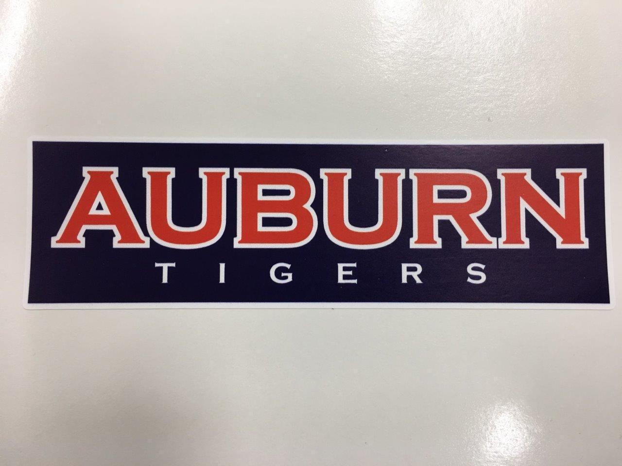 Auburn Tigers cornhole board or vehicle decal(s)