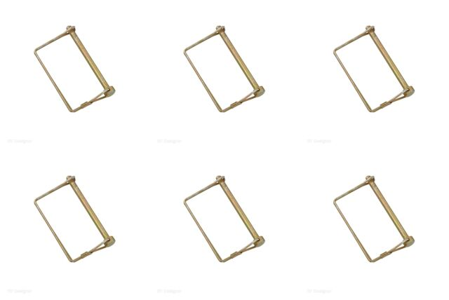 RV Designer 1//4 inch x 1-3//8 inch Collection H427 Safety Lock Pin 1//4 X 1-3//8