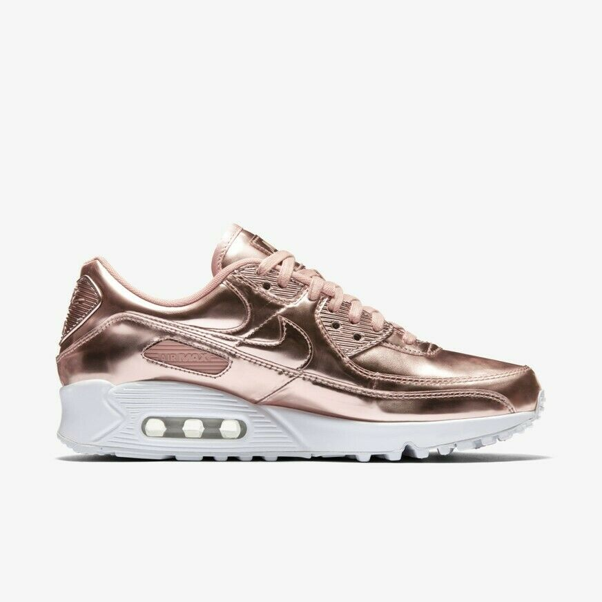 Size 9.5 - Nike Air Max 90 Metallic Pack - Rose Gold 2020 for sale ...