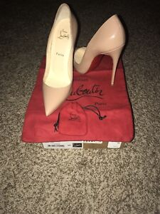 0fac7a4f72df Image is loading Lightly-Used-Christian-Louboutin-So-Kate-120mm-Patent-