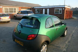 Image Is Loading Ford Ka Mk Rear Spoiler Trunk Wing