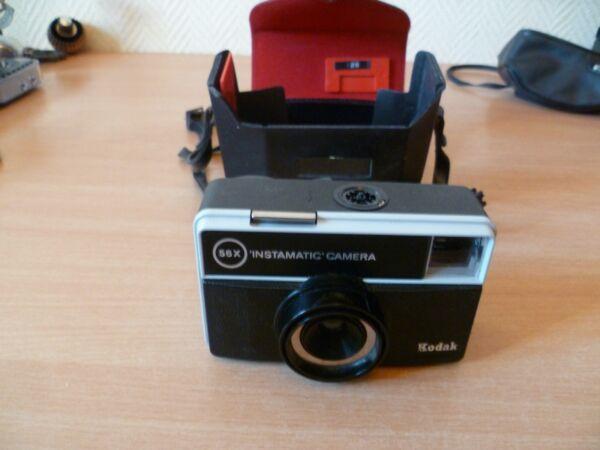 (soustele) Kodak Instamatic' Camera X 50 Avec Etui Pour ExpéDition Rapide