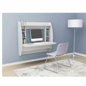 Floating-Wall-Mount-Laptop-Shelf-Computer-Desk-Workstation-Table-Home-Office