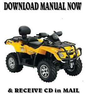 2007-2008 can-am outlander max 650 xt atv service repair manual.