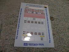 N Western Pacific GP40 3532 1983-1984 Decals Microscale #60-4338