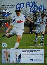 Programm 2004/05 SC Paderborn 07 - 1. FC Köln Am.