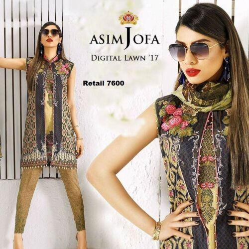 100% Original Asim Jofa Embroidered Collection