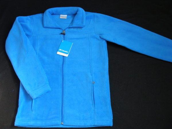 NWT Boys COLUMBIA Fleece Jacket Size 14 16 Gray Coat Steens Mountain Fall Winter