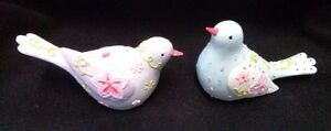 Dove-Statues-Love-Birds-Figurine-Flowered-Decorative-Home-Ornament-Gift-Set-of-2