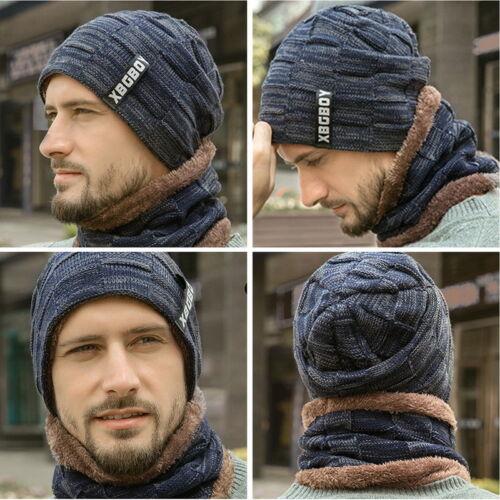 Men Women Crochet Knit Plicate Baggy  Hat Skull Winter Warm Chic Cap 50