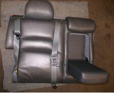 Volvo 850 V70 Rückenlehne für Rücksitz rechts Leder Gurt Kopflehne Trennnetz