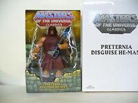 Motuc Masters Of The Universe Classics Preternia Disguise He-man Mosc