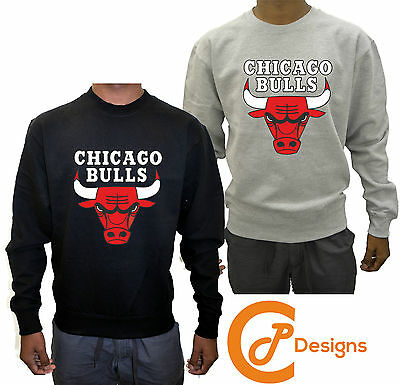 Chicago Bulls Sweatshirt UNISEX Jumper Jersey Snapback Sweater Dope Swag Mickey