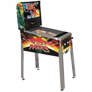Arcade1Up Attack From Mars Arcade Pinball Machine NEW