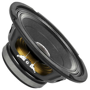 "PRV Audio 8MB450 8"" Midbass Woofer 8 Ohm 450 Watts 93 dB 2"" Coil"