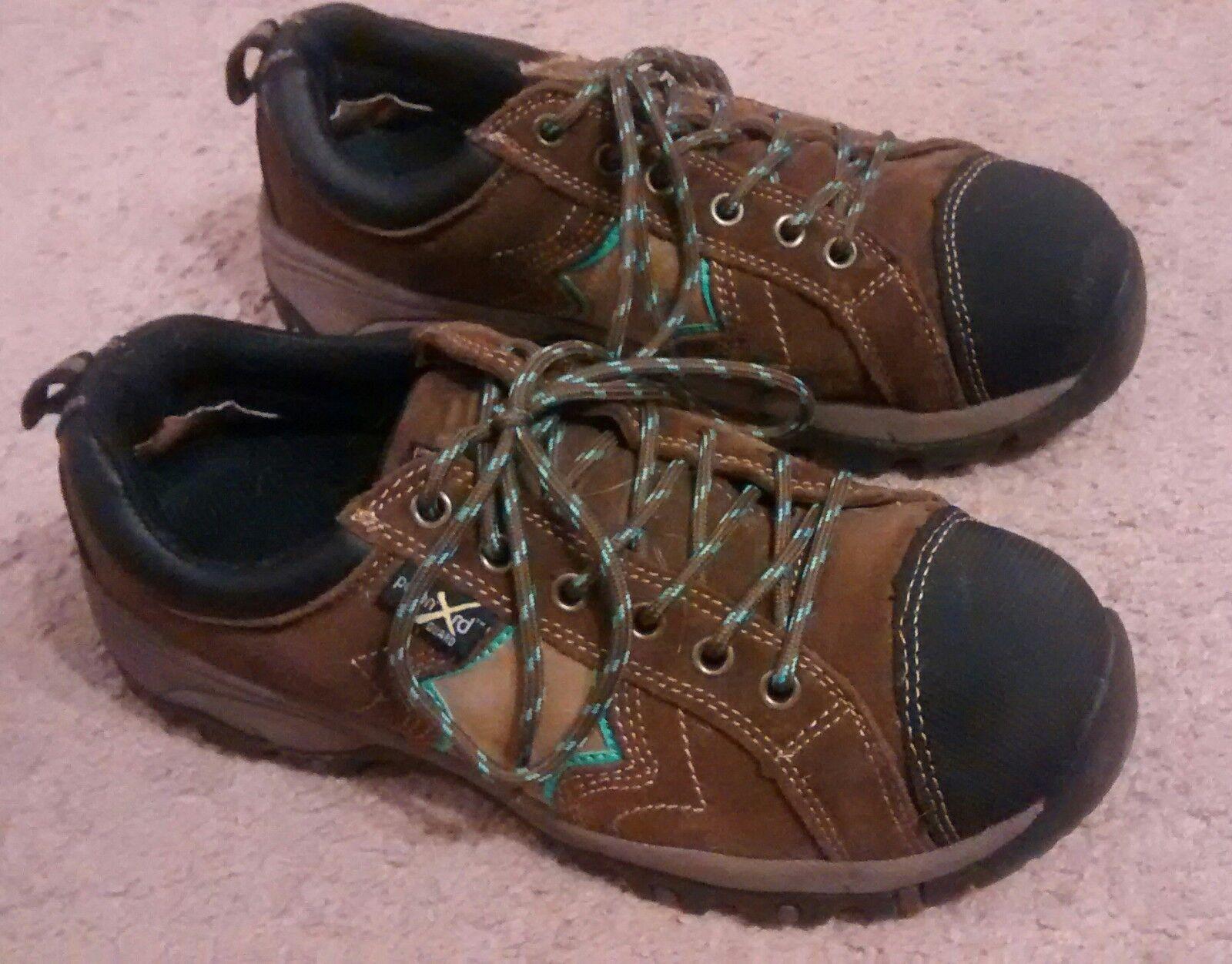 McRae para mujer metatarso Poron XRD se reunió Guardia Guardia Guardia 8M Marrón Compuesto Puntera calzado de trabajo  descuento online