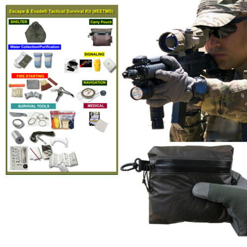 Escape /& Evade® Tactical Survival Kit #EETMS