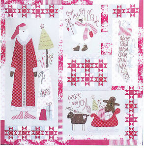 Christmas Blessings Quilt - pieced & applique quilt ...
