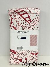 IKEA Sommarliv '20 Tablecloth 57 x 94 Flamingo Tropical Print Palm Leaves Cotton