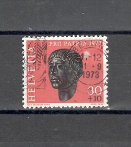 SVIZZERA CH 921 - 1973 ARCHEOLOGIA - MAZZETTA  DI 5 - VEDI FOTO