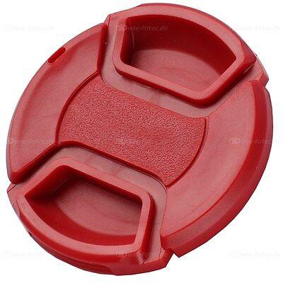 49mm Objektivdeckel Rot Lens Cap Rillingen En Pijnen