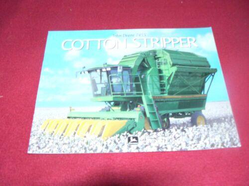 John Deere 7455 Cotton Stripper Dealers Brochure DKA117 99-03