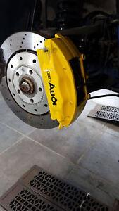 AUDI-S-LINE-Quattro-Quality-Brake-Caliper-Decals-Stickers-x4