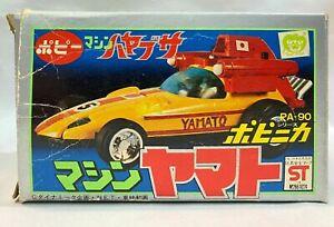 Chogokin car KEN FALCO SUPERBOLIDE MACHINE HAYABUSA YAMATO PA-90 DieCast Bandai