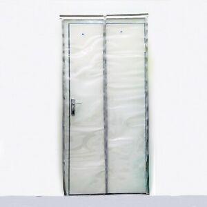 Plastic Door Curtain Strips.Details About Pvc Strip Curtain 1000x2100mm Plastic Door Curtains 500 X 2mm Clear Strips
