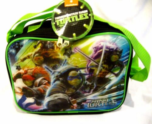 Ninja Turtles Out of the Shadow 9.5/' Insulated Lunchbox-TMNT Lunch Bag-New!!
