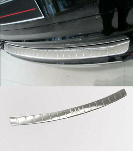 Fit for BMW X5 F15 2014-2018 Stainless Steel Outside Rear Door Plate Bumper Cover Bar Sill Trim