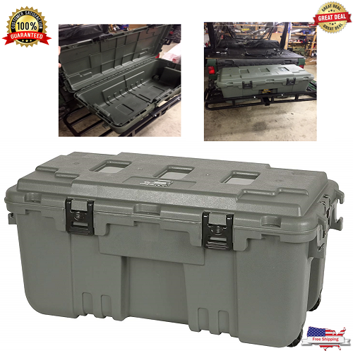 SALE XXL Pickup Truck Trunk Bed Storage Tool Box Garage Trailer Chest Heavy Duty