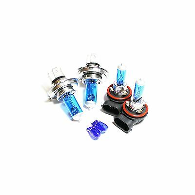 55w ICE Blue Xenon Upgrade HID High//Low//Fog//Side Light Headlight Bulbs Set