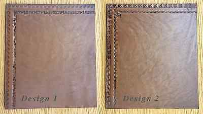 LEATHER INSERTS FOR DESKS WRITING TABLE BUREAU WRITING SLOPES WITH BLIND TOOLING