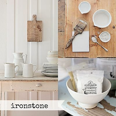 Miss Mustard Seed's Milk Paint - Ironstone white Sample Size furniture painting