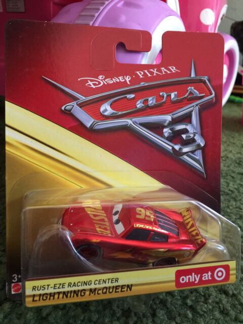 Disney Pixar Cars 3 Muddy Rust Eze Racing Center Lightning Mcqueen
