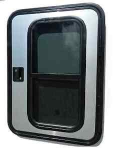 Image is loading RV-Teardrop-Passenger-Side-Foam-Core-Mill-&-  sc 1 st  eBay & RV Teardrop Passenger Side Foam Core Mill \u0026 Black Trailer Door 26\