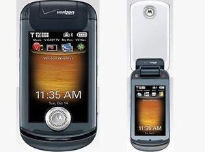 Verizon-Motorola-KRAVE-ZN4-Black-Mock-Dummy-Display-Toy-Cell-Phone