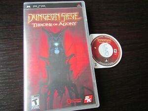 Sony-PSP-Dungeon-Siege-Throne-of-Agony-in-case-and-tested