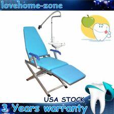 Dental Dentist Folding Chair Unit Water Supply System Cuspidor Tray Led Sale