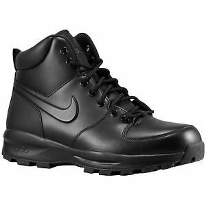 Nike ACG Manoa Black Boots Men's Leather Winter Boot Authentic Durable New Shoes