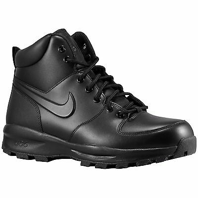 Nike ACG Manoa Black Boots Men's Leather Winter Boot Authentic Durable New Shoes | eBay