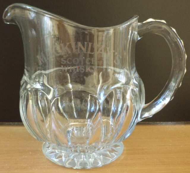 VHTF VTG COLLECTIBLE MACKINLAY'S SCOTCH WHISKY PITCHER